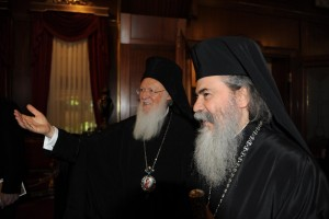 Το Πατριαρχείο Ιεροσολύμων για την επίσκεψη του Οικουμενικού