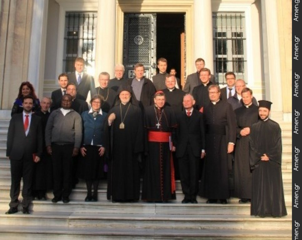 Συνάντηση μελετητών του έργου του επιτίμου Πάπα Βενεδίκτου ΙΣτ (J. Ratzinger) στην Κωνσταντινούπολη