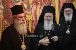 Σύμμαχο στον Σπάρτης εναντίον του Αρχιεπισκόπου αναζητεί ο Πατριάρχης – Όταν τα έκαναν αυτά στο Χριστόδουλο ήταν καλώς καμωμένα;