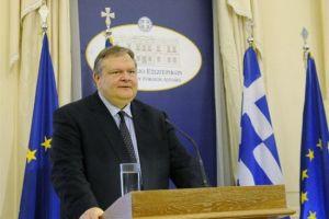 """Ευάγγελος Βενιζέλος: """"Η Ελλάδα καταδικάζει την βεβήλωση του παρεκκλησίου του Αγίου Πνεύματος"""""""