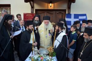 Κορυφώθηκαν οι εόρτιες εκδηλώσεις στο Σοχό παρουσία του Αρχιεπισκόπου Ιερώνυμου