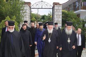 Στο Δομοκό ο Αρχιεπίσκοπος Ιερώνυμος