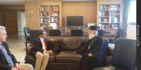 Ο Πατριάρχης Αλεξανδρείας στον Υπουργό Παιδείας