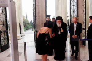 Ο Αρχιεπίσκοπος στην τελετή λήξης της Ελληνικής Προεδρίας