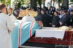 Αποχαιρέτησαν οι Ουκρανοί τον πνευματικό τους Πατέρα , Μητροπολίτη Βλαδίμηρο