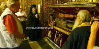 ΦΩΤΟΡΕΠΟΡΤΑΖ: Το προσκύνημα του Κωνσταντίνου στον Αγιο Διονύσιο