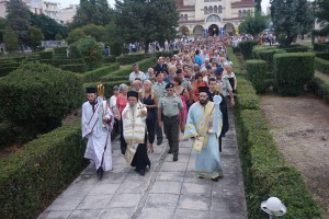 Η εορτή της Μεταμορφώσεως του Σωτήρος στην 1η Στρατιά στη Λάρισα(ΦΩΤΟ)