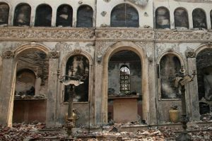 Εβαλαν φωτιά σε εκκλησία για να γυρίσουν…. τουρκικό σίριαλ!!!