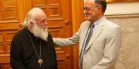 Στον Αρχιεπίσκοπο ο Γενικός Γραμματέας Διαφάνειας Γ. Σούρλας