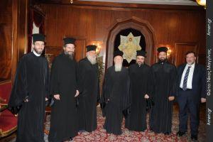 Θερμή υποδοχή του Μητροπολίτη Κερκύρας στο Οικουμενικό Πατριαρχείο (ΦΩΤΟ)