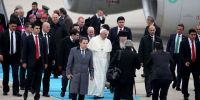 Ο Πάπας Φραγκίσκος στο Οικουμενικό Πατριαρχείο