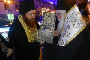 Η Κάρα του Αγίου Σεραφείμ στην μητρόπολη Δημητριάδος