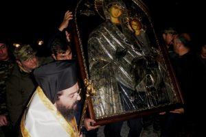 Η Ι.Μ.Μαρωνείας και Κομοτηνής υποδέχθηκε την Παναγία τη Γοργοϋπήκοο από την Ι.Μονή Δοχειαρίου Αγίου Όρους (ΦΩΤΟ)