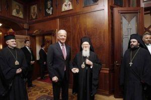 Συνάντηση Τζο Μπάιντεν με Οικουμενικό Πατριάρχη