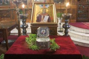 Εορτάσθηκε η μνήμη του αγίου Μηνά του Καλλικελάδου στη Λαμία (ΦΩΤΟ)