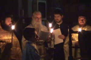 Με Ιερά Αγρυπνία τιμήθηκε η μνήμη του Αγίου Πορφυρίου στο Μεσολόγγι (ΦΩΤΟ)