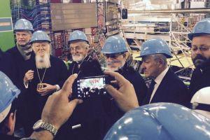 Ο Οικουμενικός Πατριάρχης στην καρδιά του CERN (ΦΩΤΟ)