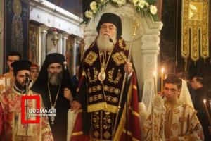 Χοροστατούντος του Αρχιγραμματέα της Ι.Σ. ο Εσπερινός στην Αγία Βαρβάρα Δάφνης