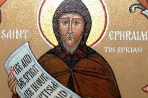 """Οσίου Εφραίμ του Σύρου: """"Σε ψυχή που ραθυμεί"""""""