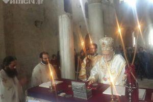 Εν τοις Μύροις Άγιε ιερουργός ανεδείχθης…