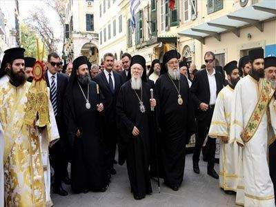 Τρισάγιο στον Τάφο του Μεγάλου Ιωάννη Καποδίστρια τέλεσε ο Οικ. Πατριάρχης