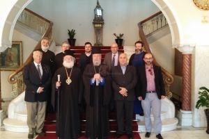 Κατάθεση θεμελίου λίθου της Εξαρχίας του Πατριαρχείου Αλεξανδρείας στην Κύπρο