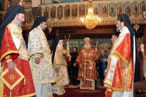 Χειροτονία Επισκόπου Ναυκράτιδος Μελετίου