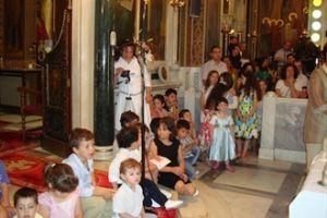 Ποιά η θέση των παιδιών στην Εκκλησία