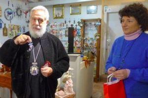 Ο Μητροπολίτης Σύρου ευχήθηκε στους επαγγελματίες της Ερμούπολης (ΦΩΤΟ)