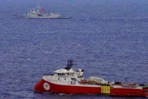 """Η Τουρκία παίρνει το """"Barbaros"""" από την Κυπριακή ΑΟΖ και το στέλνει για έρευνες στο Καστελόριζο"""