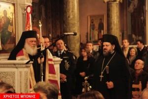 Στον άγιο Αθανάσιο του Θησείου ο Αρχιεπίσκοπος