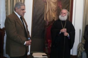 Συνάντηση Πατριάρχη Αλεξανδρείας με Αιγύπτιο Πρωθυπουργό