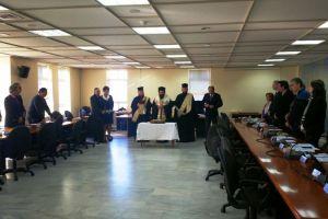 Κοπή Βασιλόπιτας στην Πρυτανεία του Δημοκρίτειου Πανεπιστημίου Θράκης