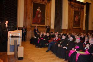 Oμιλία του Οικουμενικού Πατριάρχη Βαρθολομαίου στο Πανεπιστήμιο της Λουβαίν