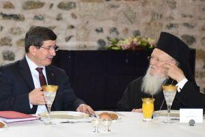 Συνάντηση Πρωθυπουργού Τουρκίας και Οικουμενικού Πατριάρχη