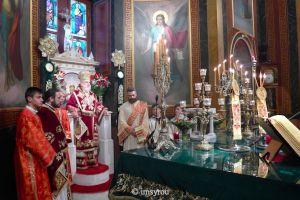 Πρωτοχρονιάτικη Θεία Λειτουργία στην Ι.Μ. Σύρου