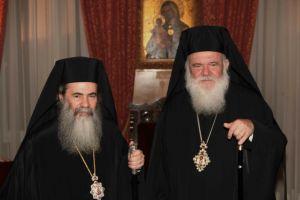 """Πώς μπορεί ο Πατριάρχης Ιεροσολύμων Θεόφιλος να διαμαρτύρεται προς την  Εκκλησία  της Ελλάδος για..""""εισπήδηση"""",όταν ο ίδιος έχει καταστρατηγήσει αυτό  τον όρο;"""