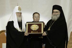 Απονομή βραβείου στον Πατριάρχη Αντιοχείας