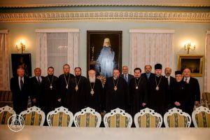 Συνάντηση κορυφής και ιδιαίτερης σημασίας στο Πατριαρχείο Κιέβου!!!