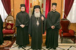 Κουρά δύο δοκίμων μοναχών στα Ιεροσόλυμα