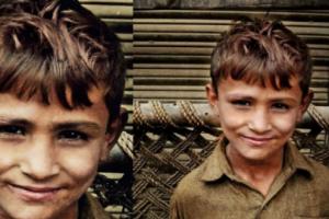 ΣΥΓΚΙΝΗΤΙΚΟ: Ένα αγόρι χτύπησε μια πόρτα για να ζητήσει φαγητό. Αυτός που του άνοιξε του έδωσε πολλά περισσότερα!