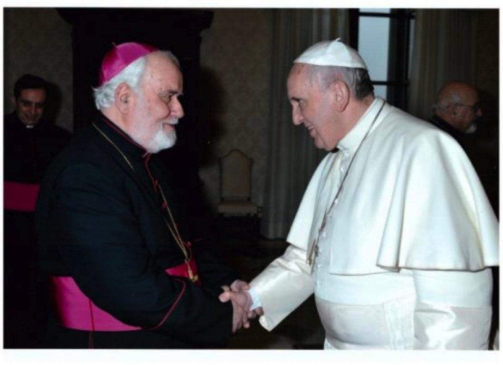 You are currently viewing ΡΚαθολικός Αρχιεπίσκοπος Νικόλαος: Η πρώτη συνάντησή μου με τον Πάπα Φραγκίσκο