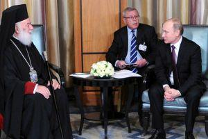 Συνάντηση Πατριάρχη Αλεξανδρείας με Βλαντιμίρ Πούτιν