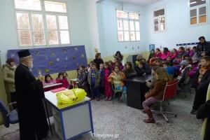 Το δώρο του Μητροπολίτη Σύρου σε δημοτικό σχολείο