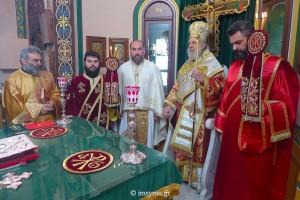 Η εορτή του Αγίου Φλαβιανού στην Ι.Μ. Σύρου