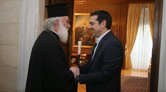 Συνάντηση Πρωθυπουργού-  Πατριάρχη Αλεξανδρείας