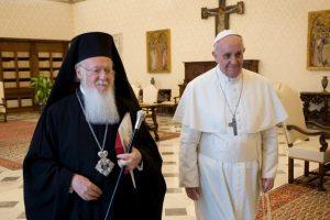 Έμμεση απάντηση Βαρθολομαίου στο Άγιον Όρος για τις επαφές με τον Πάπα!