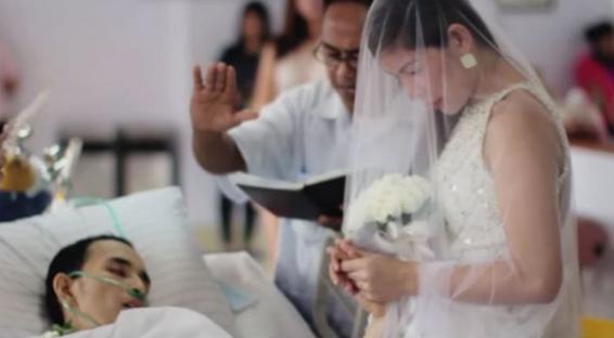 Το βίντεο που θα σε λυγίσει: Την παντρεύτηκε και μετά έφυγε απο τη ζωή ήρεμος και ευτυχισμένος…