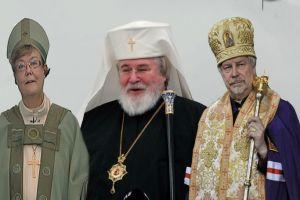 Ανω- κάτω στην Ορθόδοξη Εκκλησία της Φινλανδίας για τη συμμετοχή  γυναίκας Επισκόπου σε λειτουργία