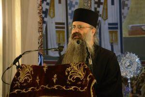 Ο Αγιορείτης Ιερομ.Ιωσήφ Ξενοφωντινός στον Ι.Ν.Αγίας Τριάδος Θεσσαλονίκης